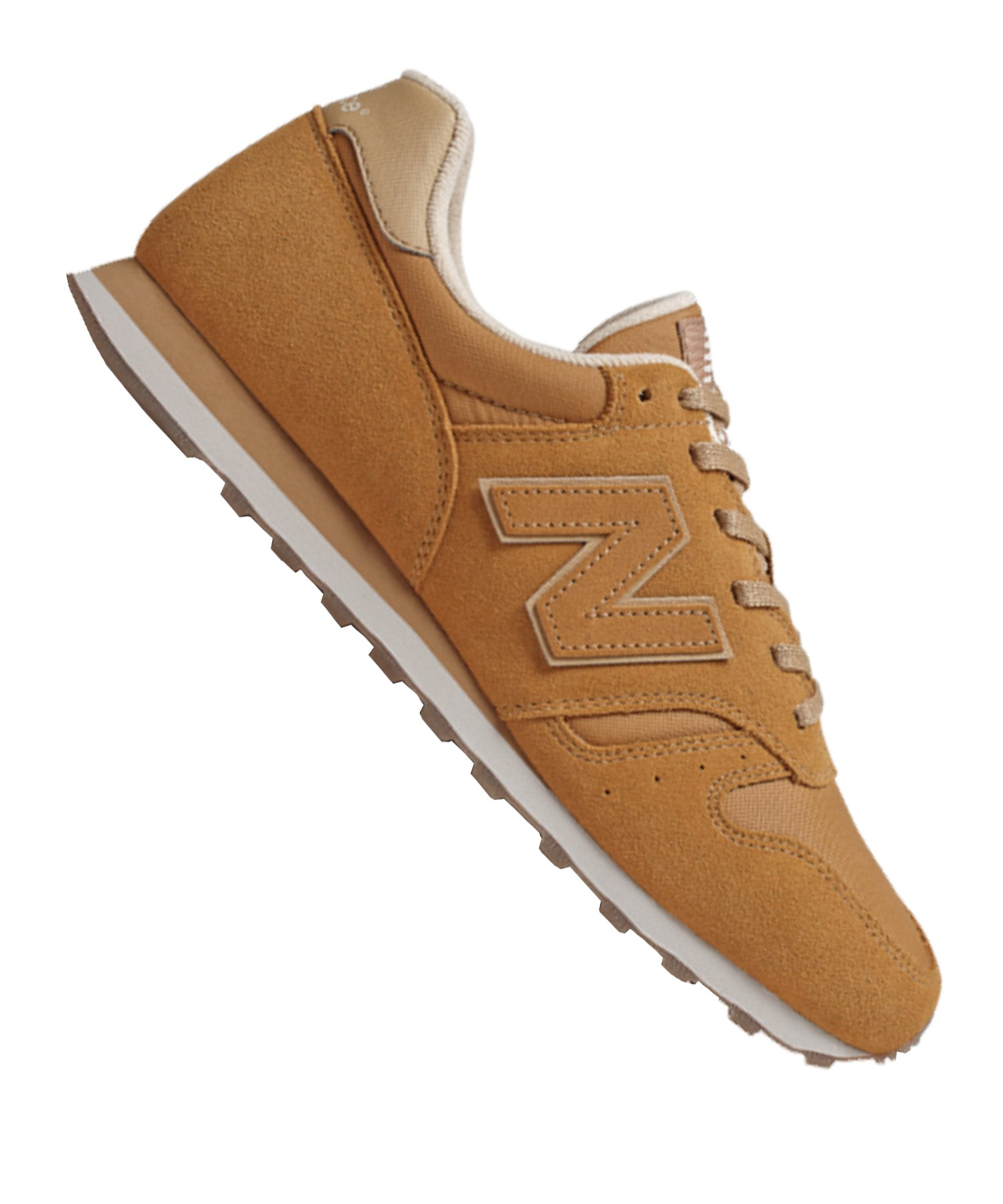 New Balance ML373 D Sneaker Gelb F7 - braun