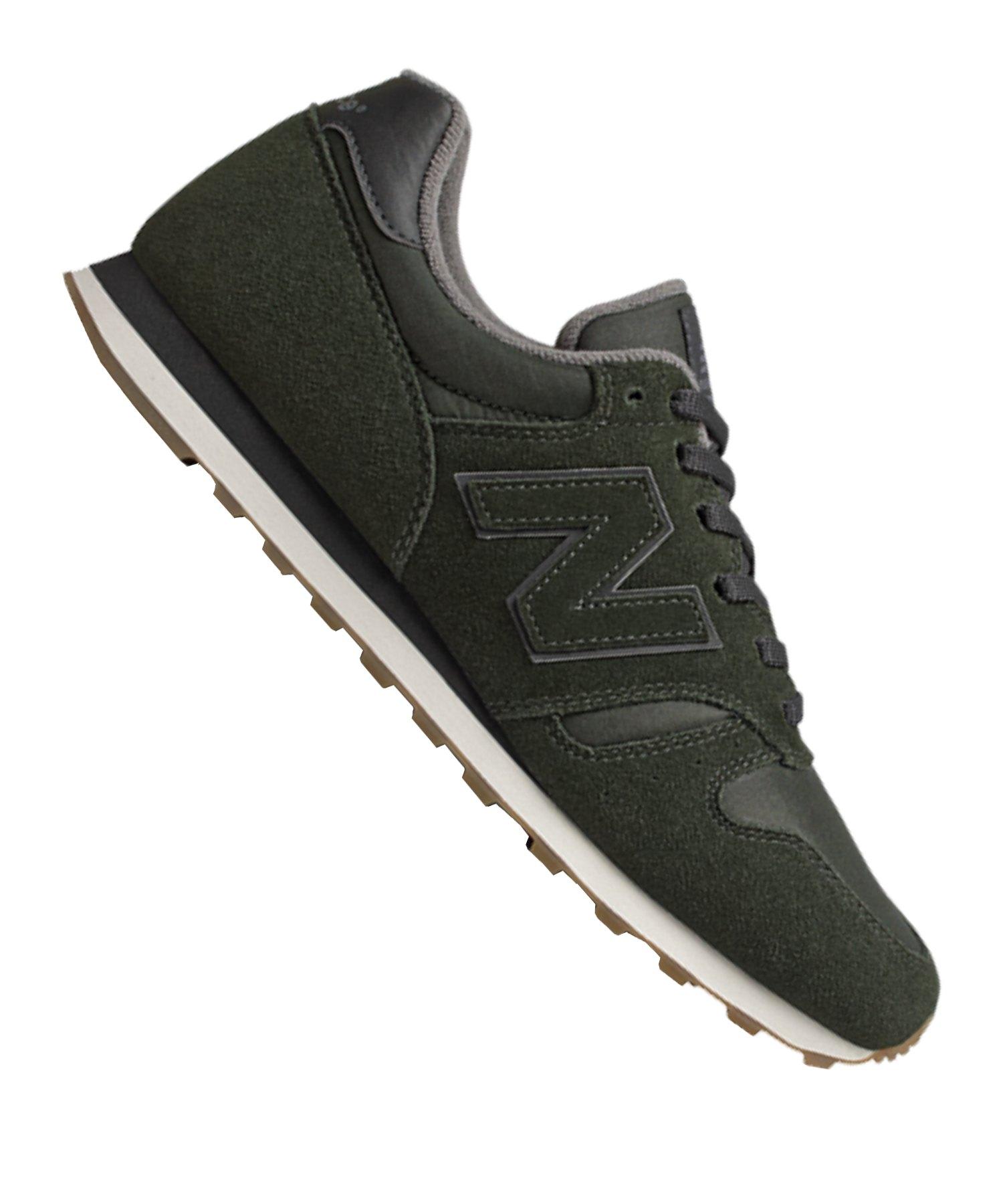 New Balance ML373 D Sneaker Grün Schwarz F6 - gruen