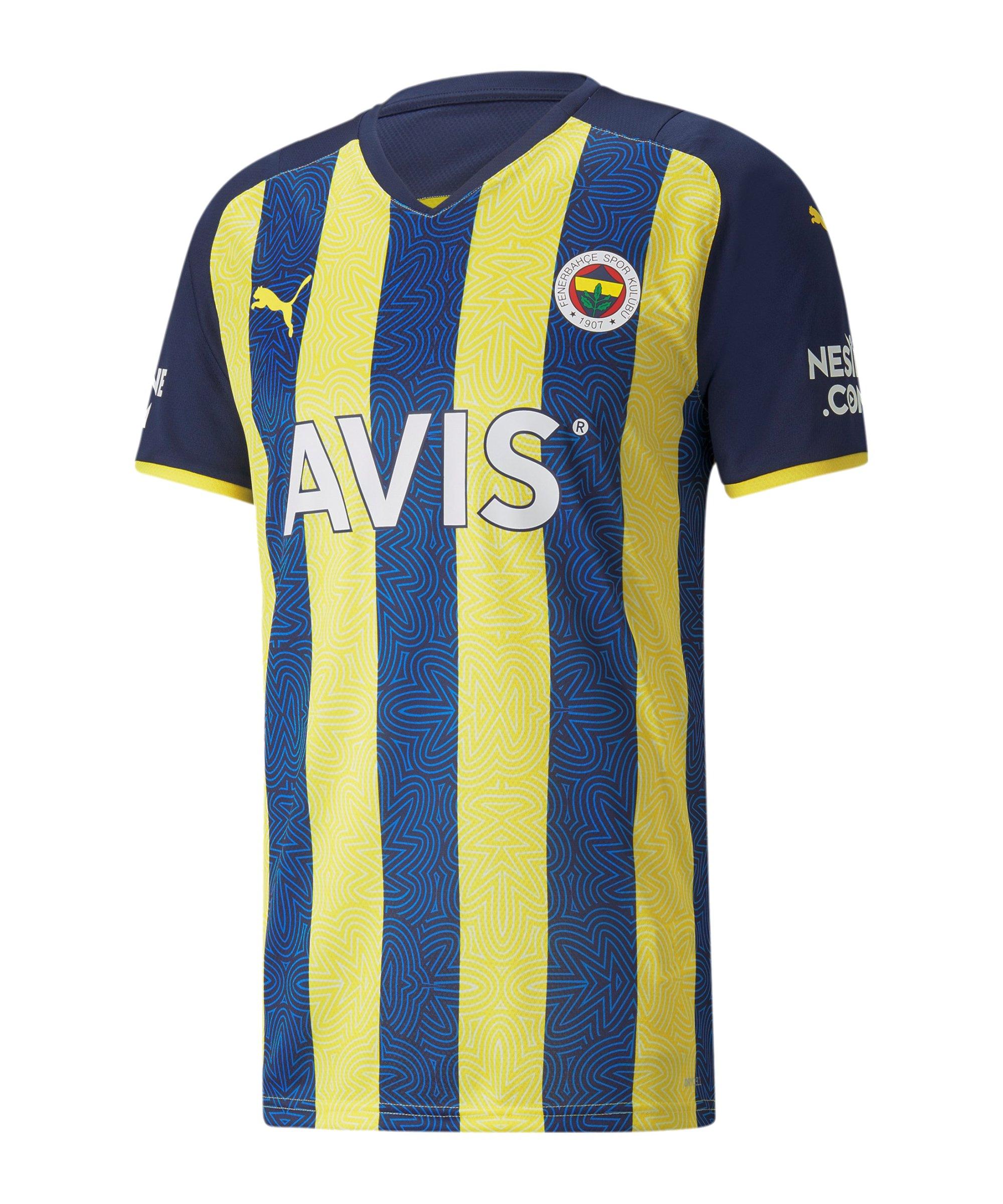 PUMA Fenerbahçe Istanbul Trikot Home 2021/2022 Gelb F01 - gelb