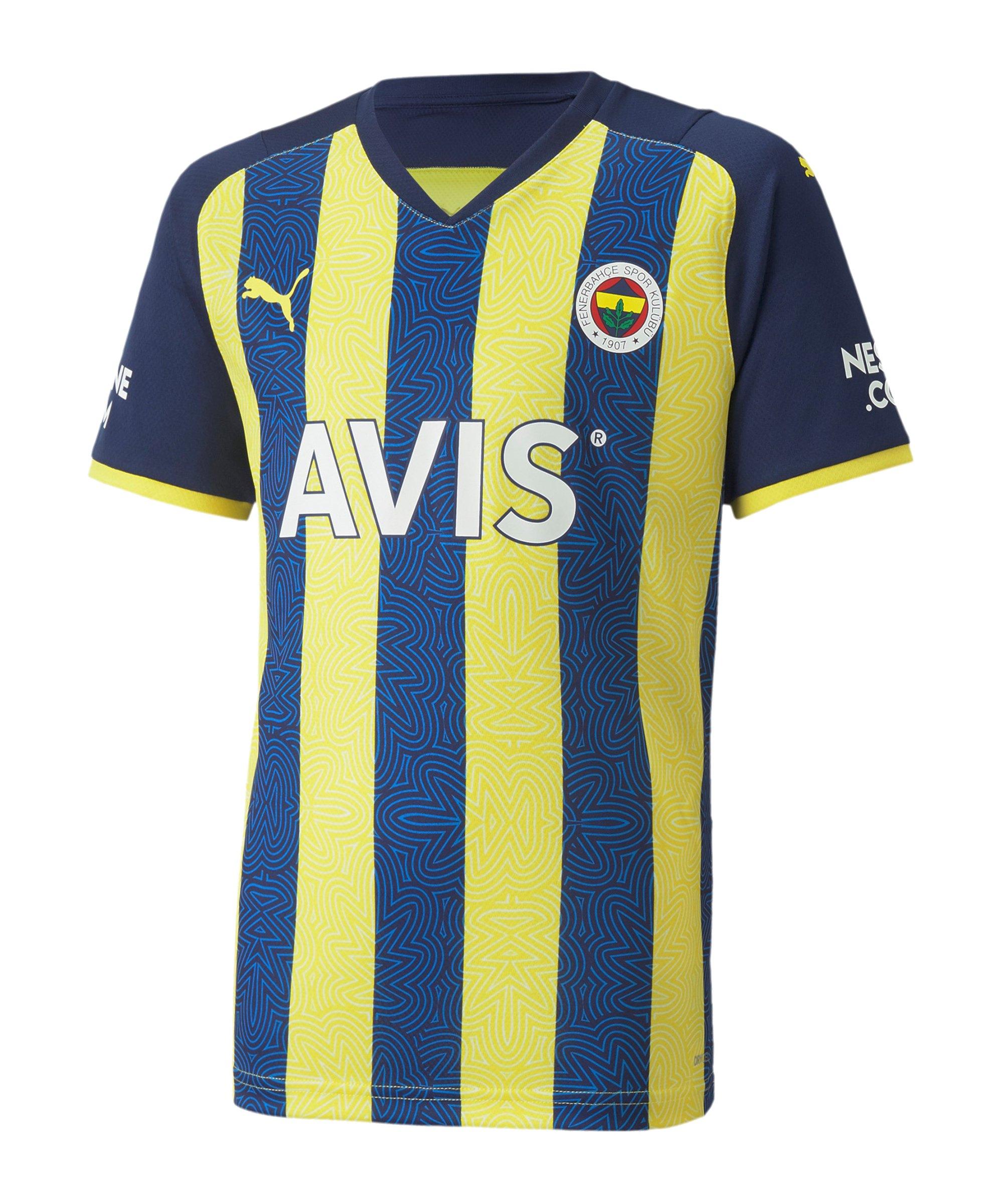 PUMA Fenerbahçe Istanbul Trikot Home Kids 2021/2022 Gelb F01 - gelb