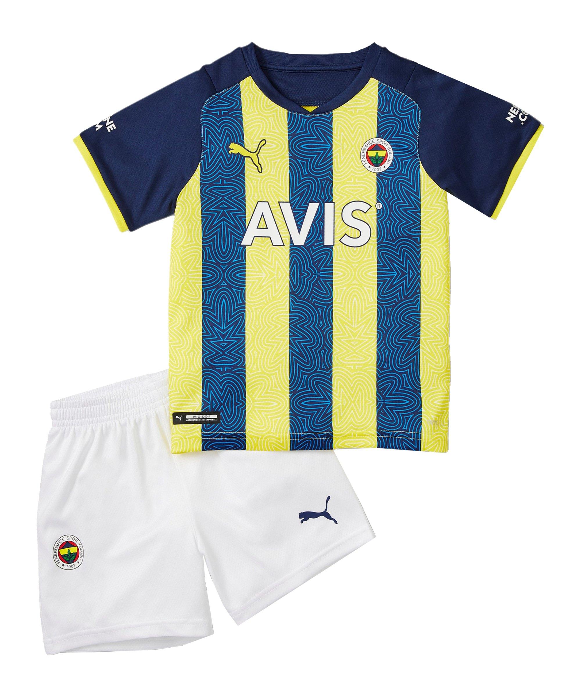 PUMA Fenerbahçe Istanbul Minikit Home 2021/2022 Gelb F01 - gelb