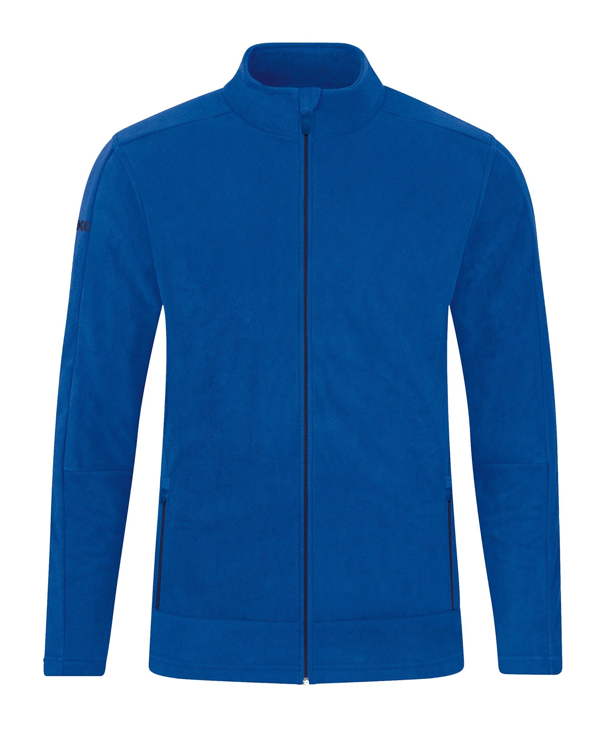 JAKO Fleece Jacke Blau F402 - blau