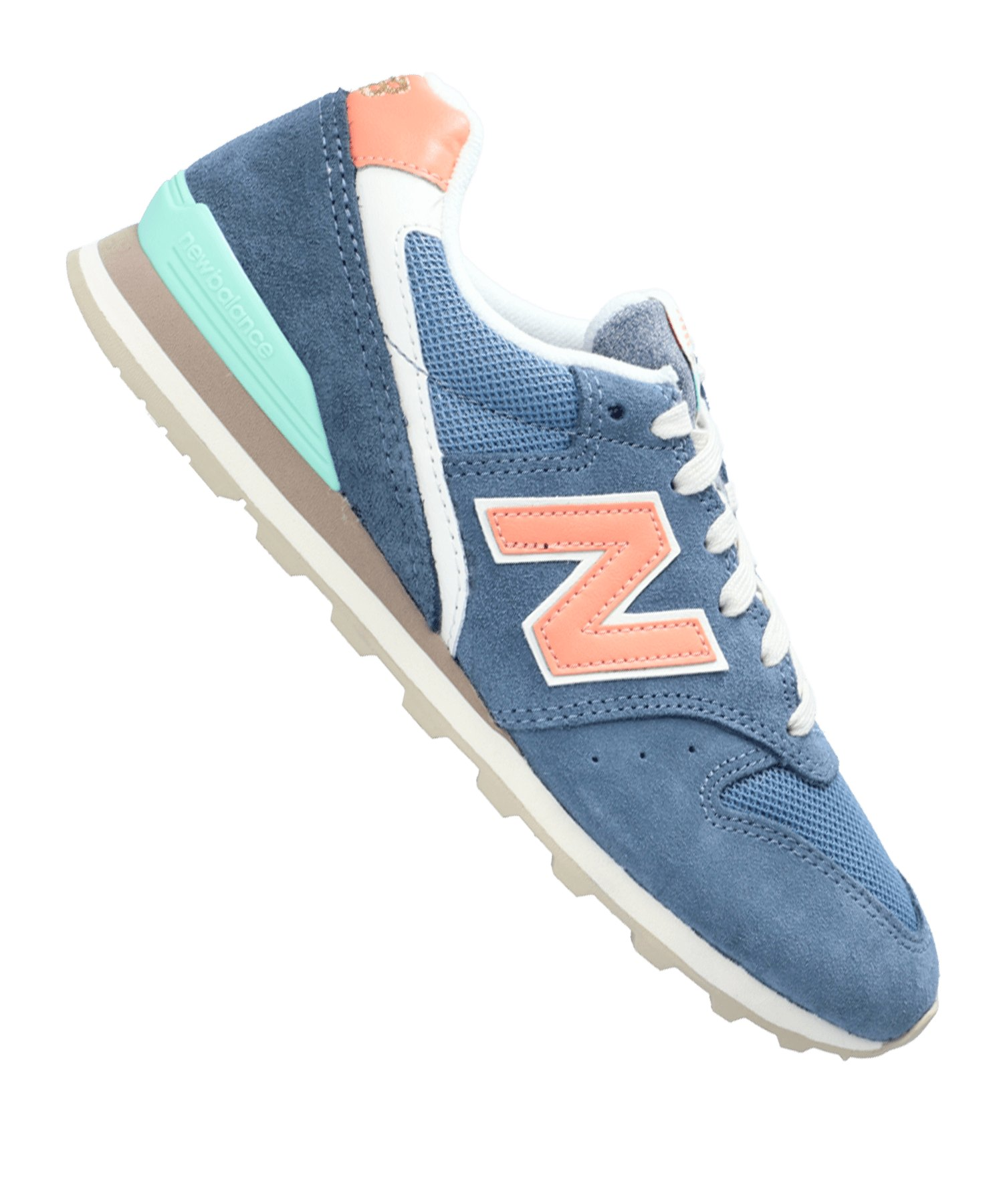 New Balance WL996 B Sneaker Damen Blau F5 - blau