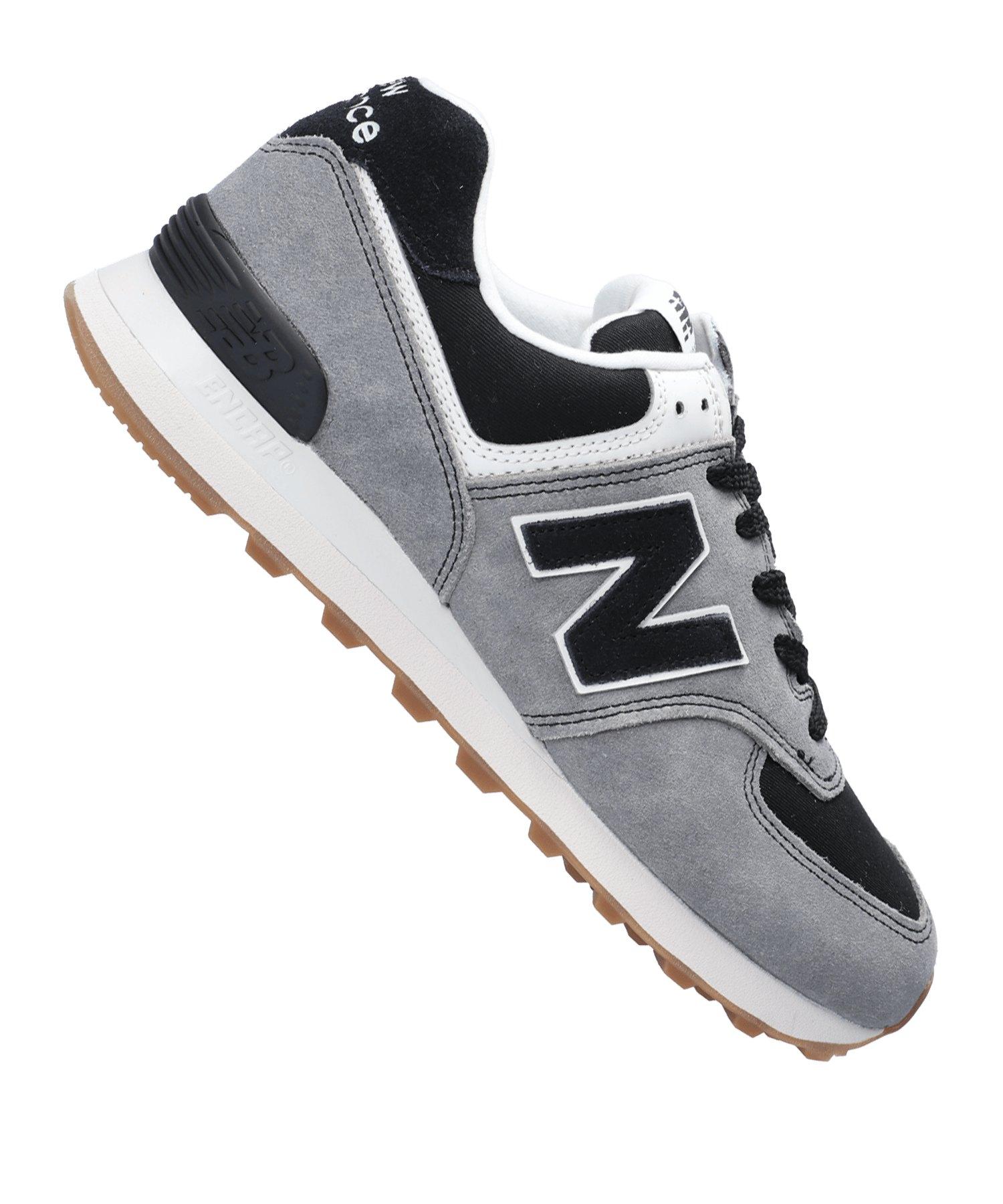 New Balance ML574 D Sneaker Schwarz F8 - schwarz