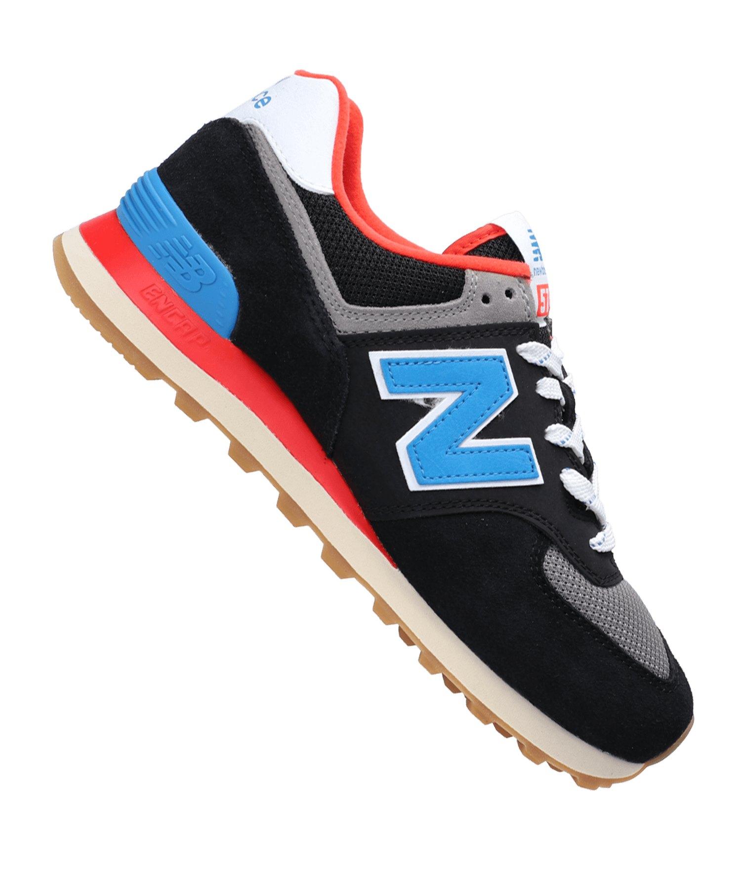 New Balance ML574 D Sneaker Schwarz F08 - braun