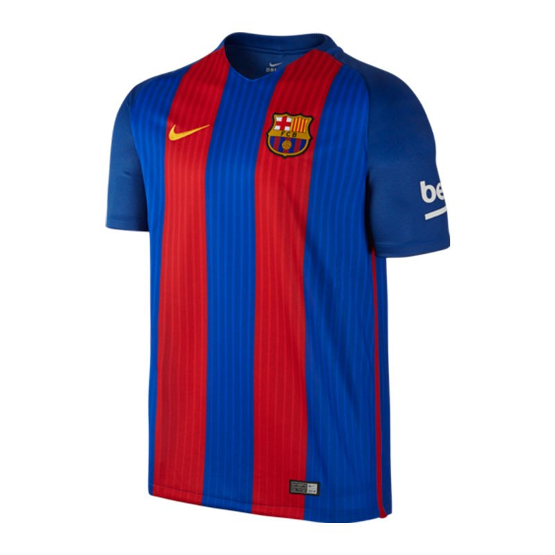 Nike Trikot Home 16/17 FC Barcelona Kinder F481 - blau
