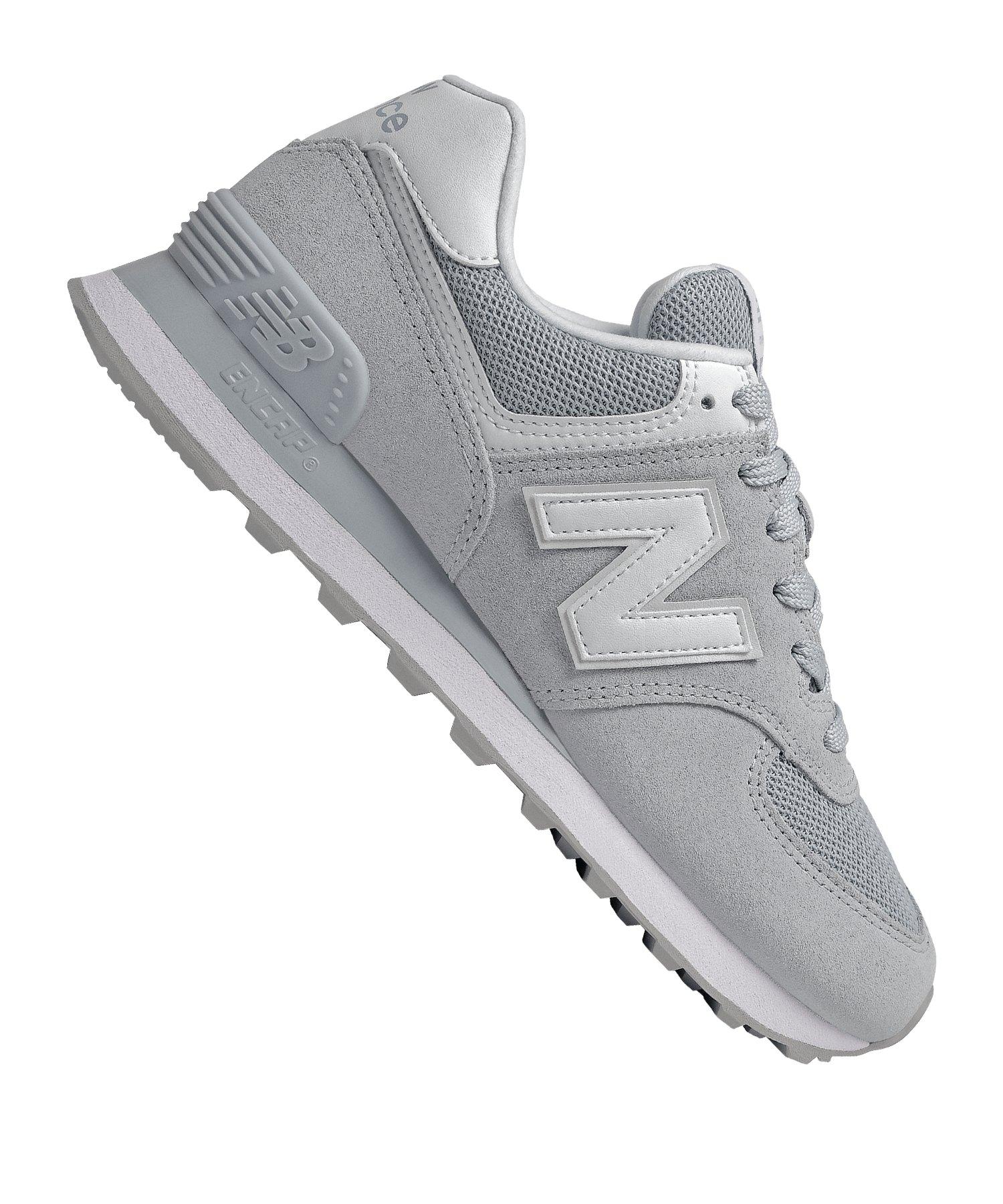 New Balance WL574 B Sneaker Damen Grau F12 - grau