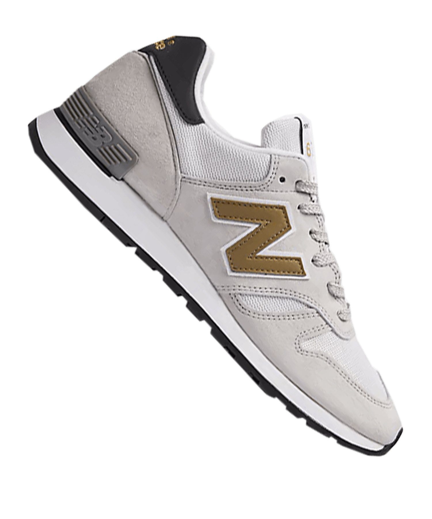 New Balance M670 D Sneaker Weiss F3 - weiss