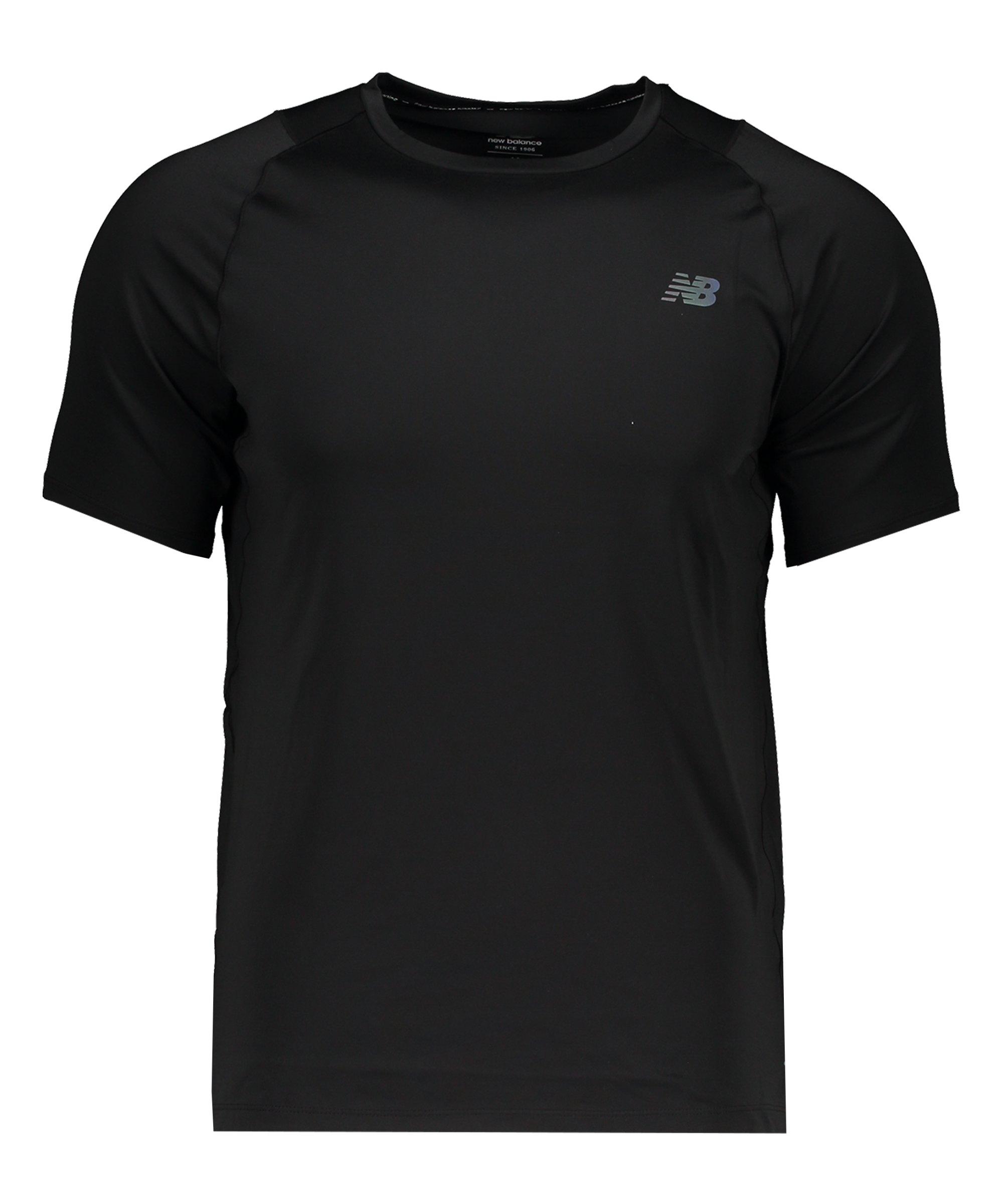 New Balance Speed Seasonless T-Shirt Running F08 - schwarz