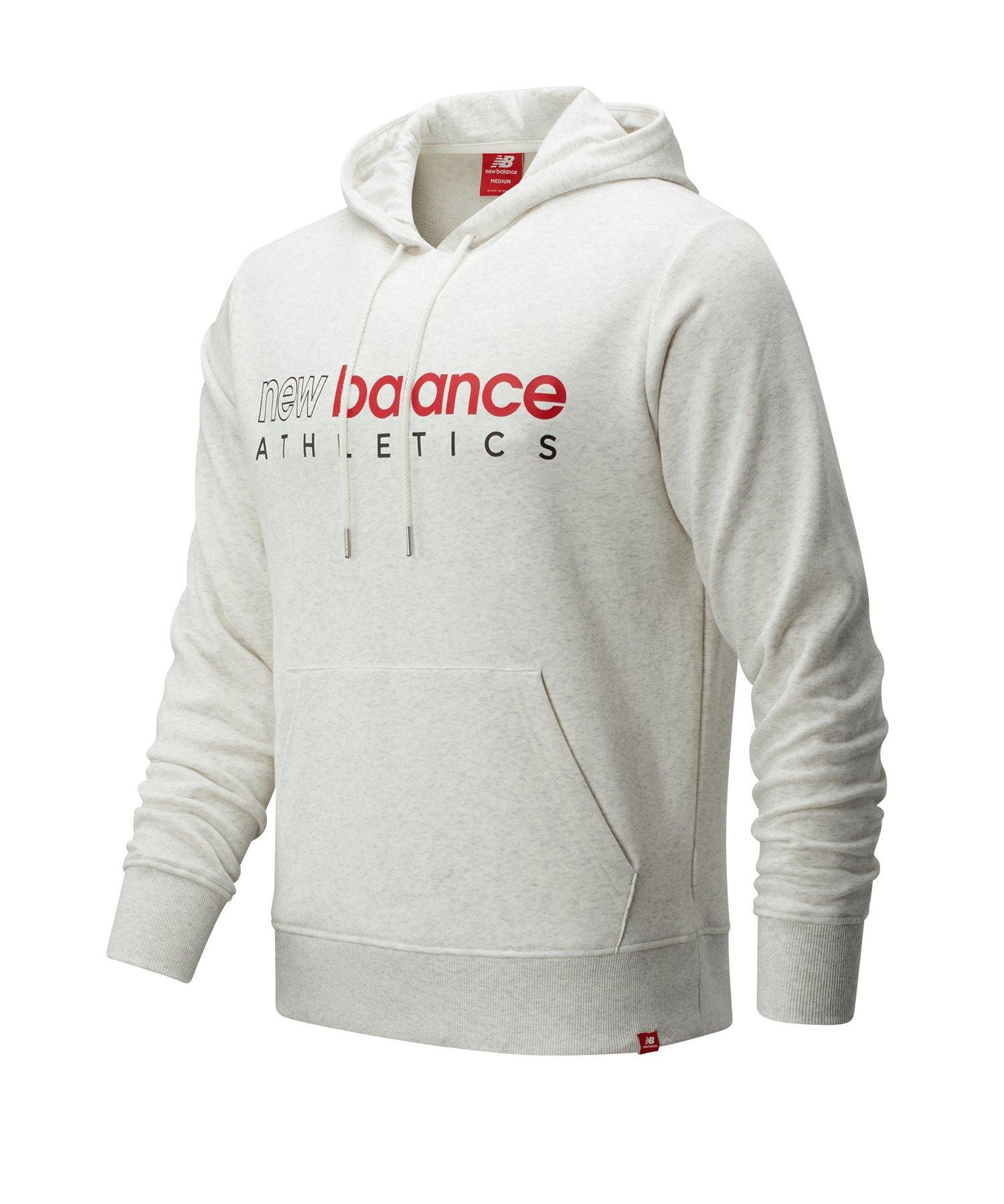 New Balance Essentials Icon Kapuzensweatshirt F33 - beige