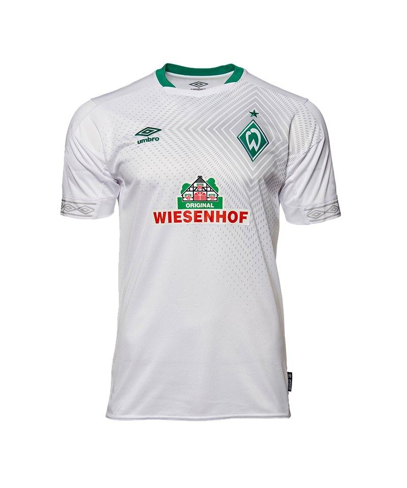 Umbro SV Werder Bremen Trikot 3rd 2018/2019 Weiss - weiss
