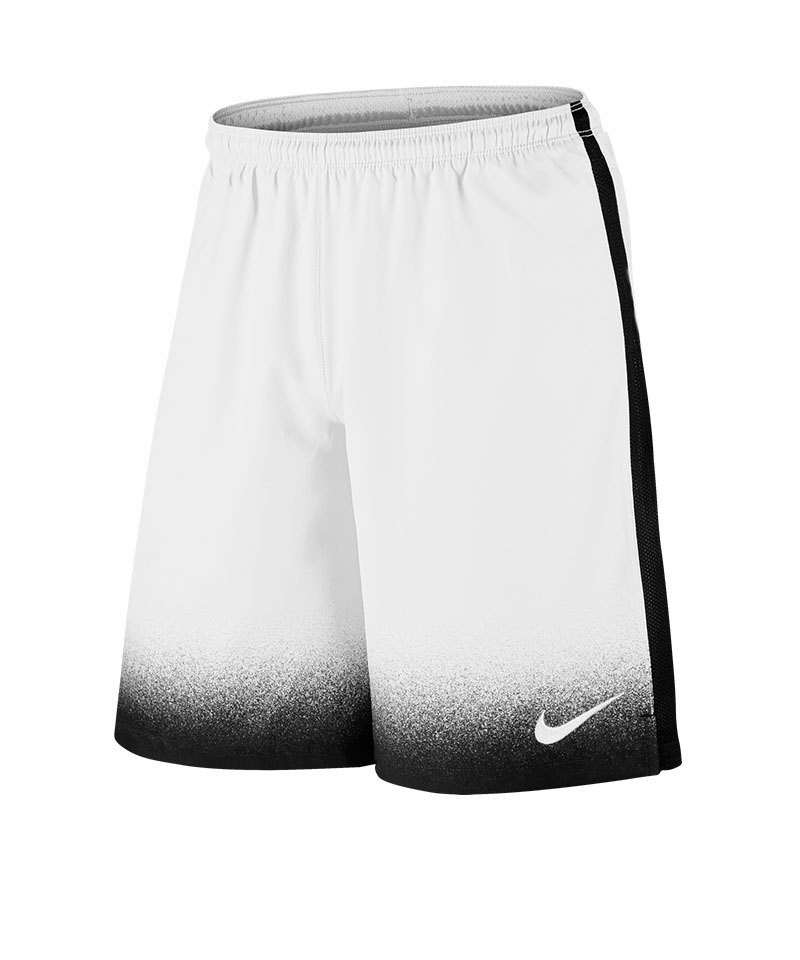 Nike Short Laser Woven Printed Kinder F100 Weiss - weiss