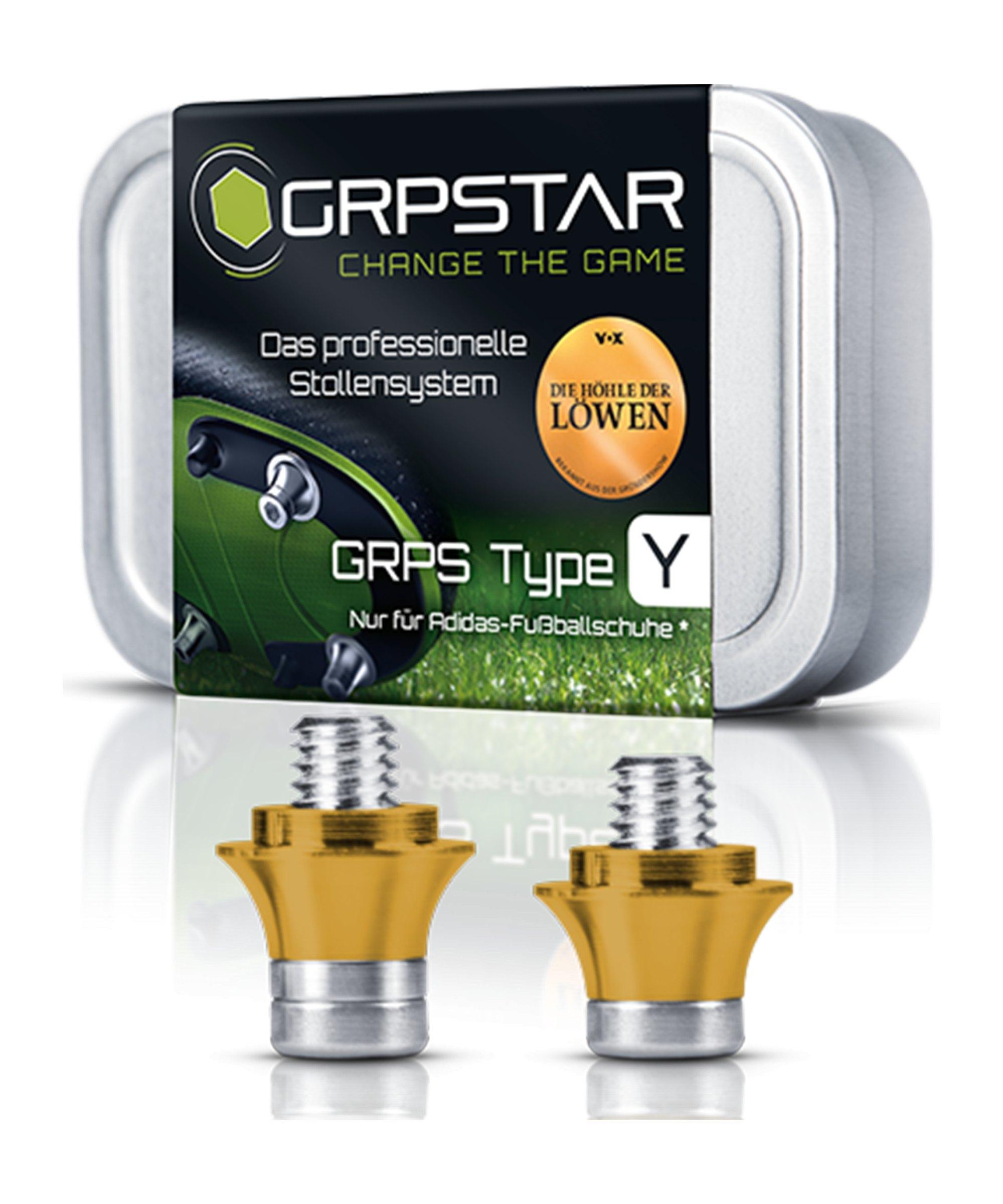 GRPSTAR Type Y Stollen Gold Höhe verstellbar 13mm 11mm - gold