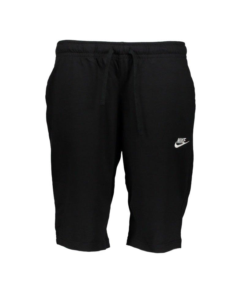 Nike NOS NSW Short Club Hose kurz Schwarz F010 - schwarz