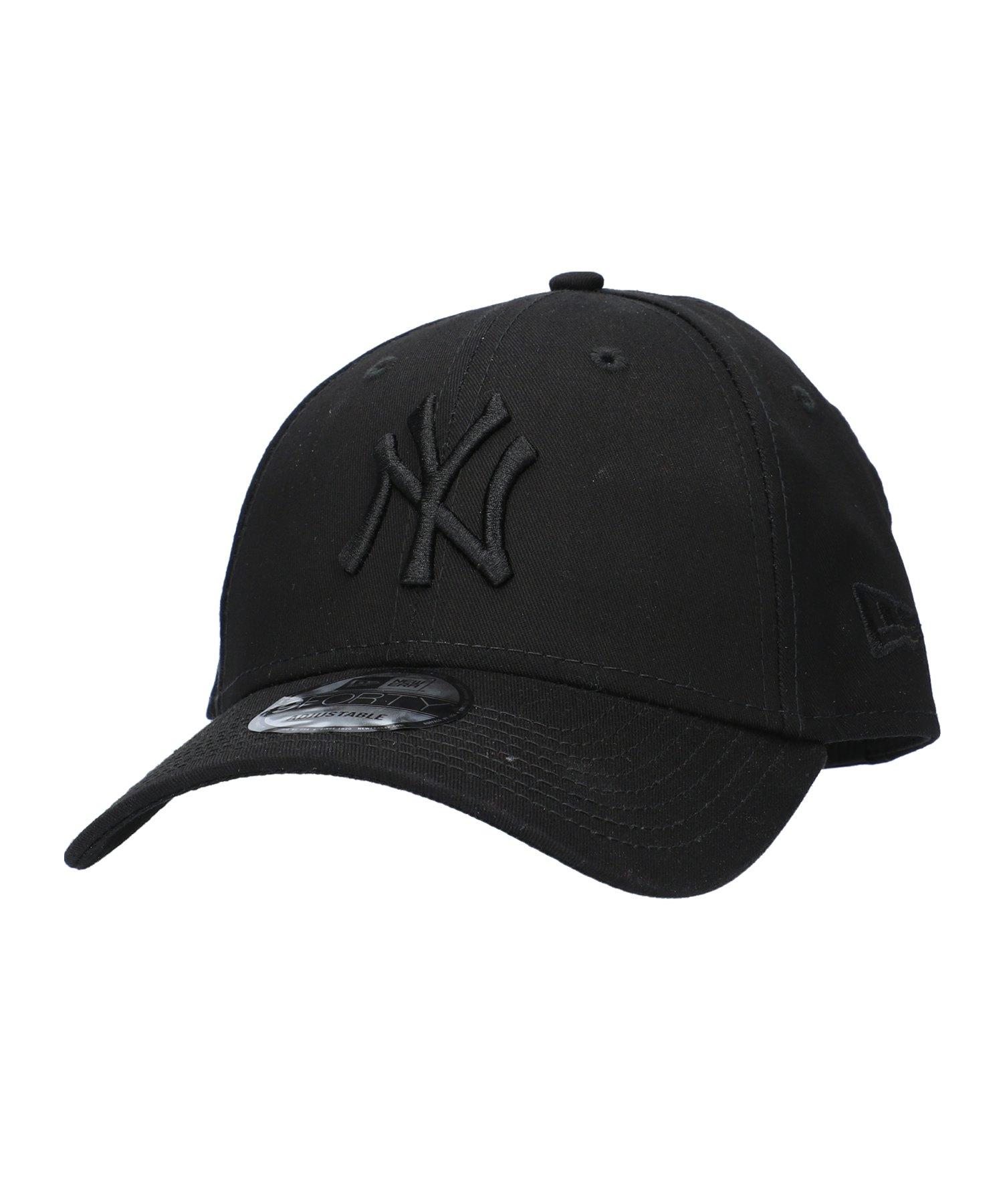 New Era NY Yankees 9Forty Cap League Schwarz - schwarz
