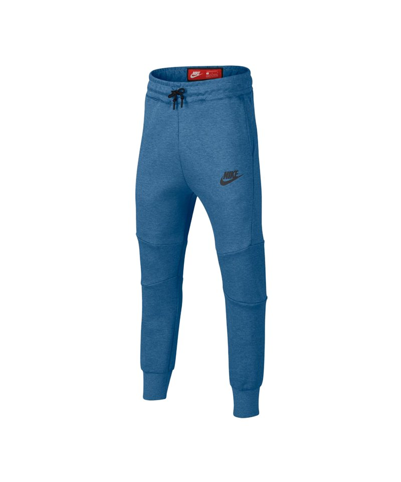 Nike Tech Fleece Pant Jogginghose Kids Blau F437 - blau