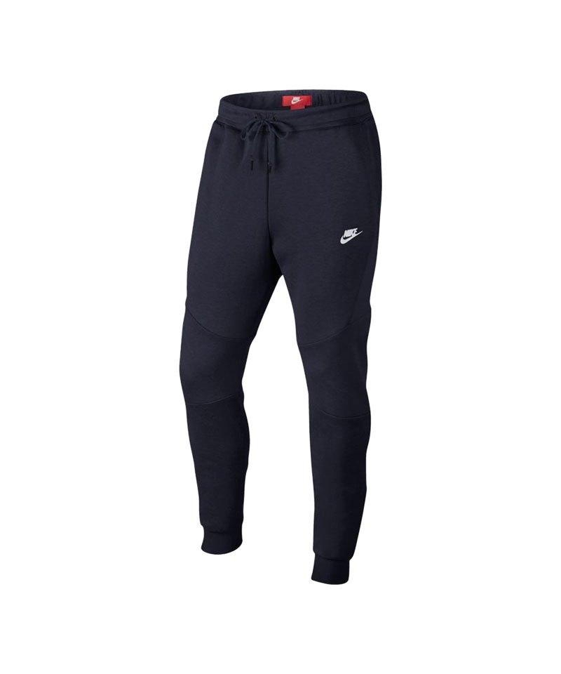 Nike Tech Fleece Jogger Pant Hose Dunkelblau F455 - blau