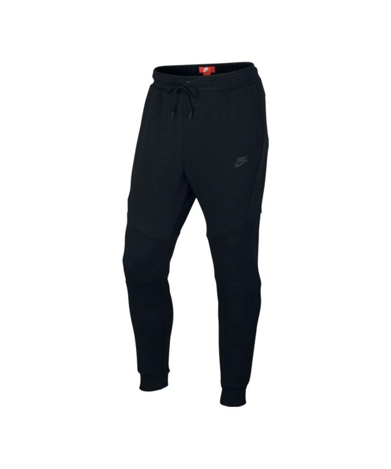 Nike Tech Fleece Jogger Pant Hose Schwarz F010 - schwarz
