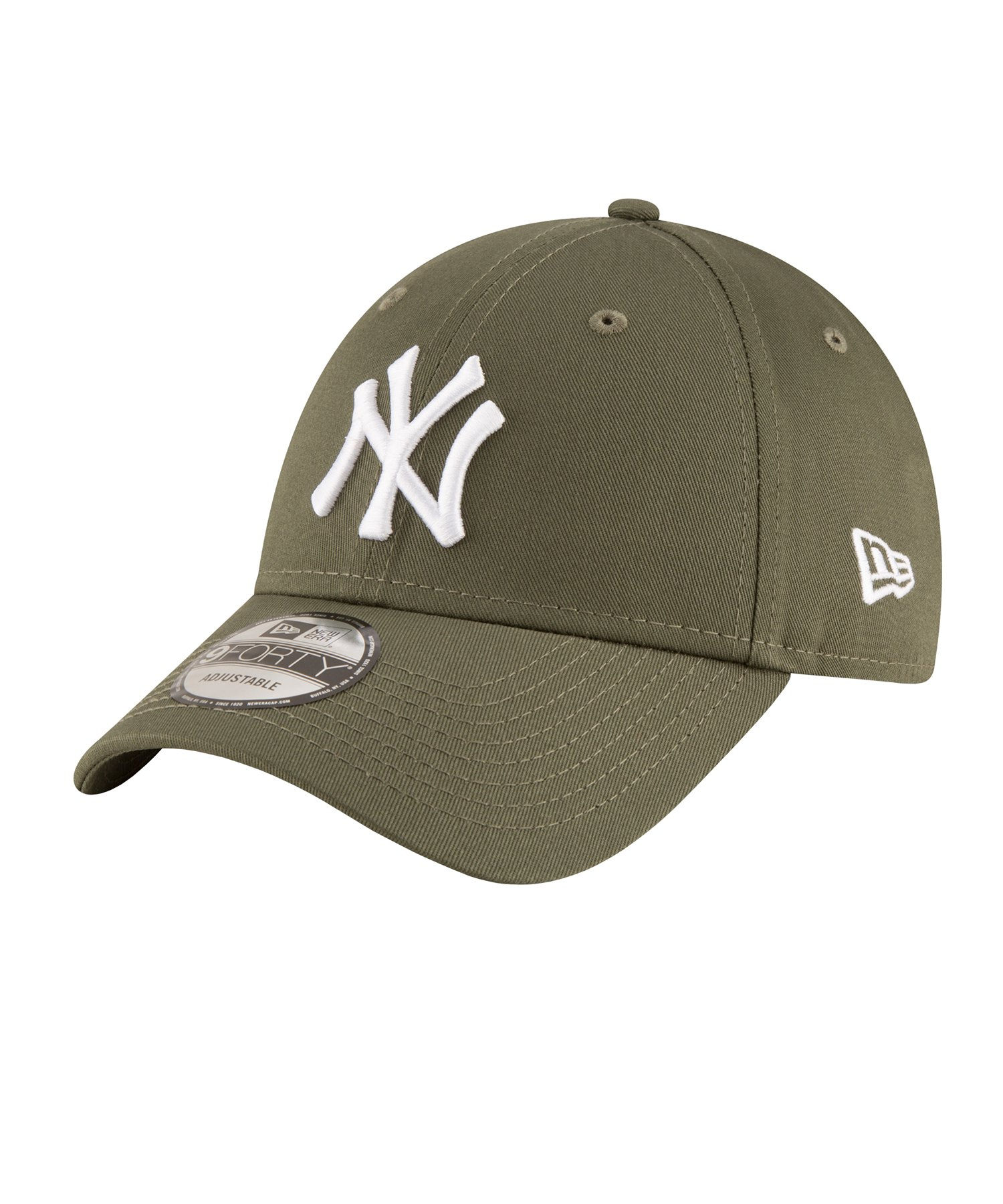 New Era NY Yankees 9Forty League Essential Cap Weiss - khaki