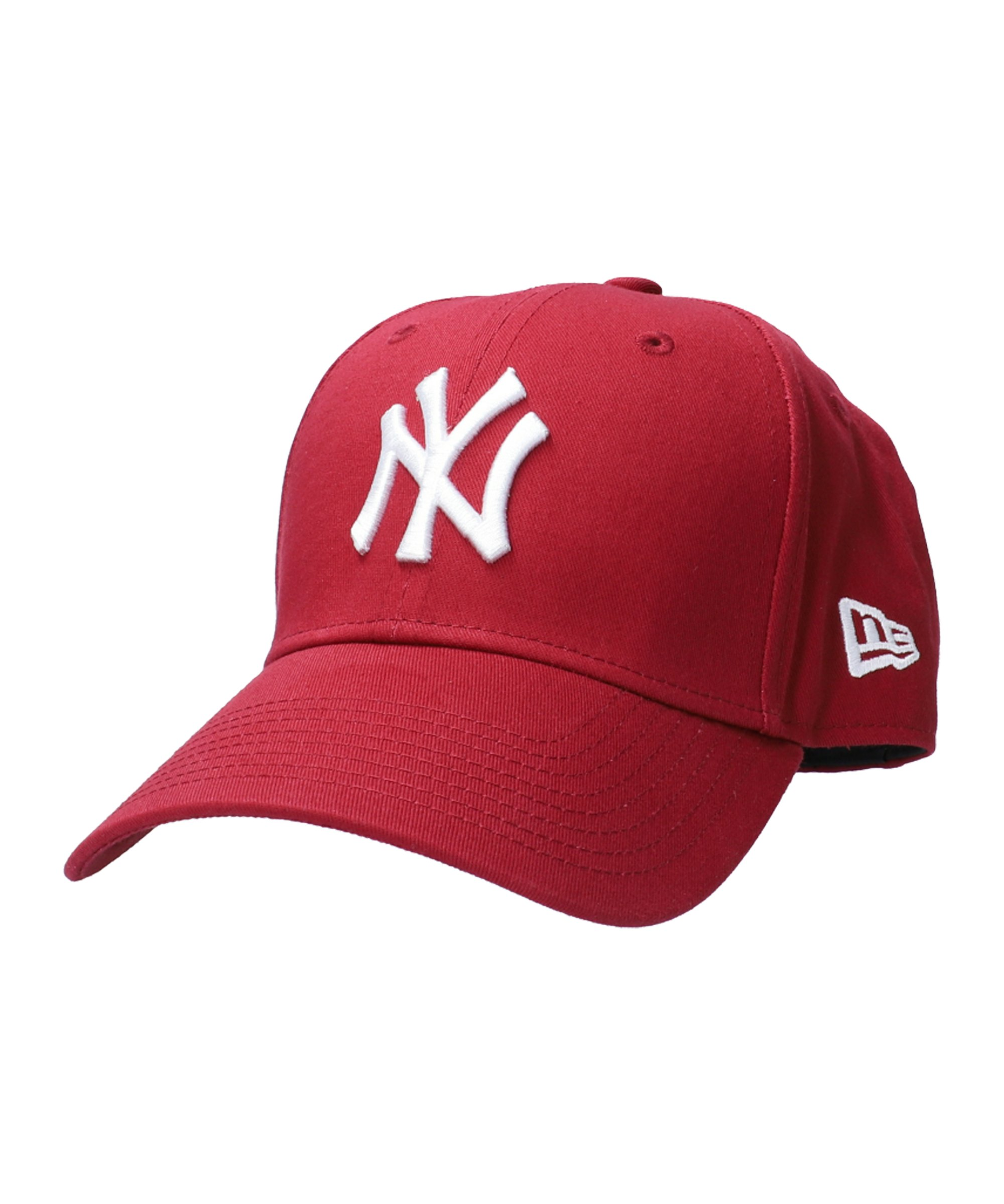 New Era NY Yankees 9Forty Cap Rot Weiss - weiss