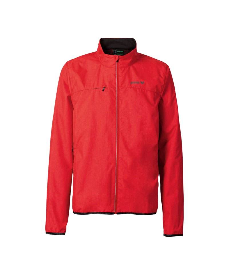 Erima Green Concept Jacke Running Rot - rot