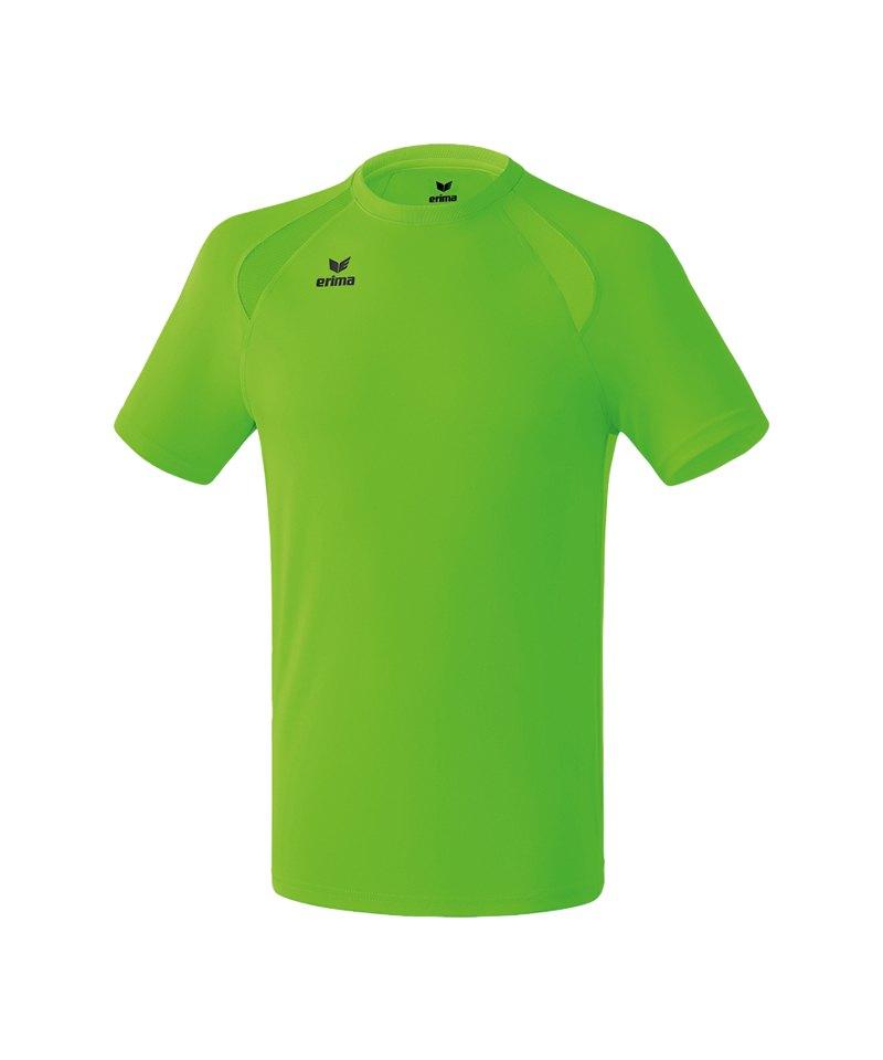 Erima Performance T-Shirt Kinder Grün - gruen