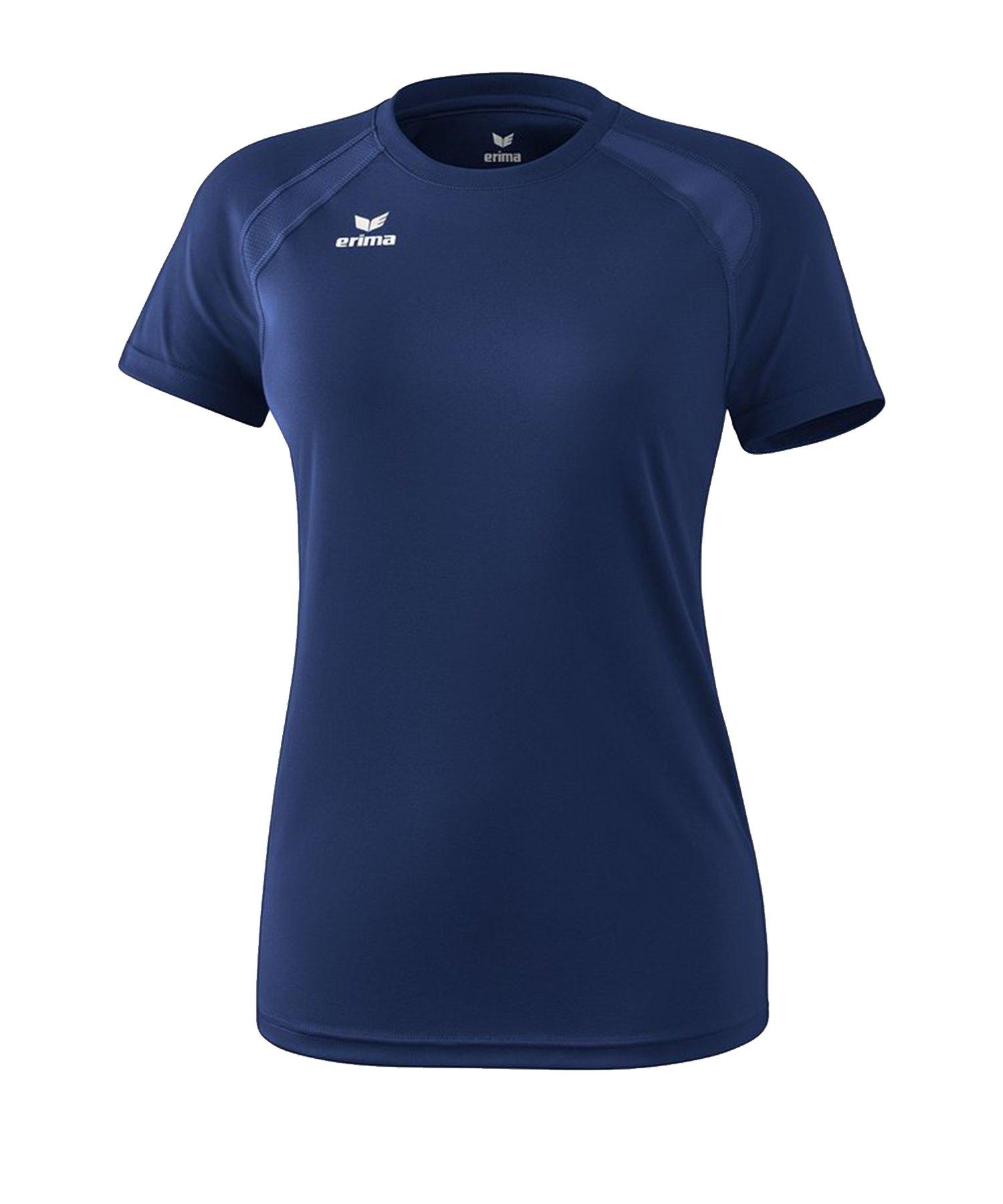 Erima Performance T-Shirt Damen Blau - Blau