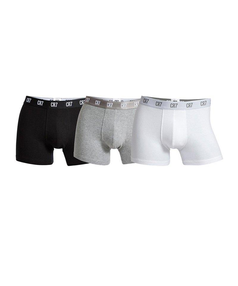 CR7 Basic Underwear Boxershort 3er Pack - schwarz