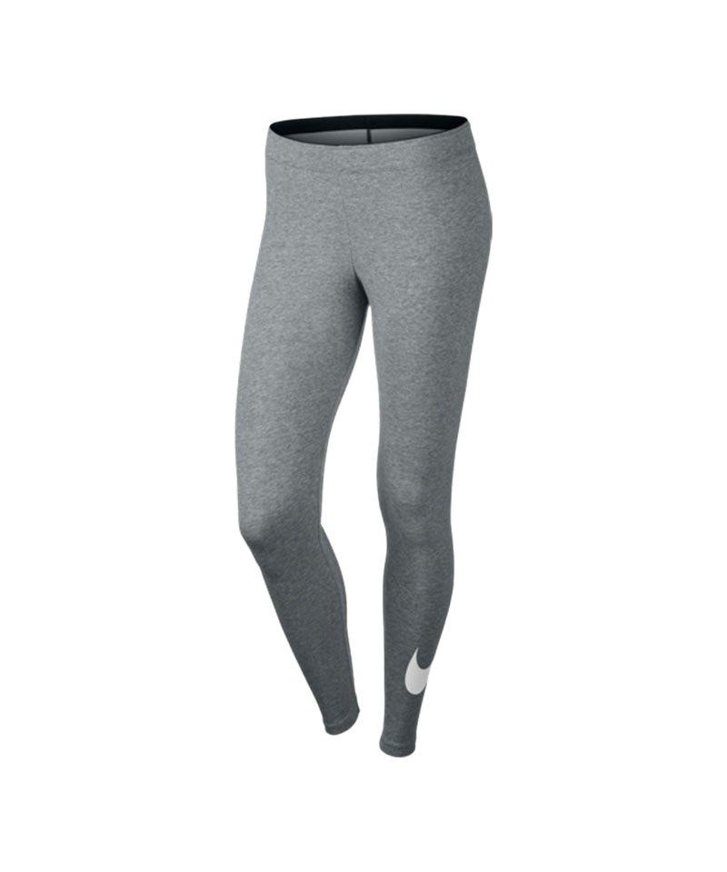 Nike Legging Club Training Damen Grau F063 - grau