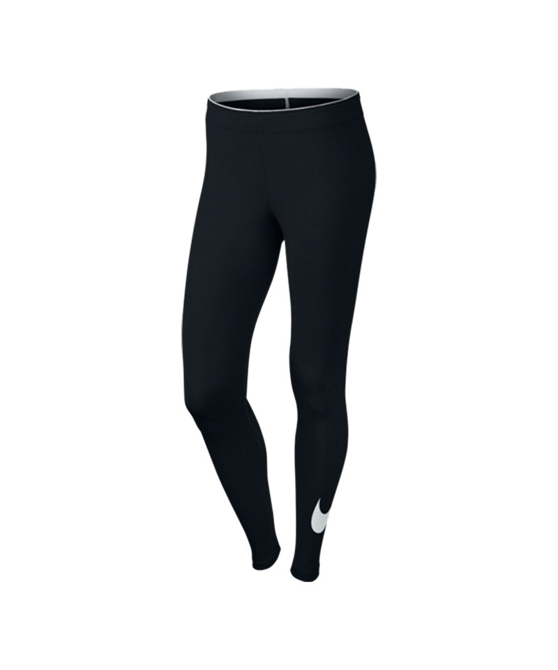 Nike Legging Club Training Damen Schwarz F010 - schwarz