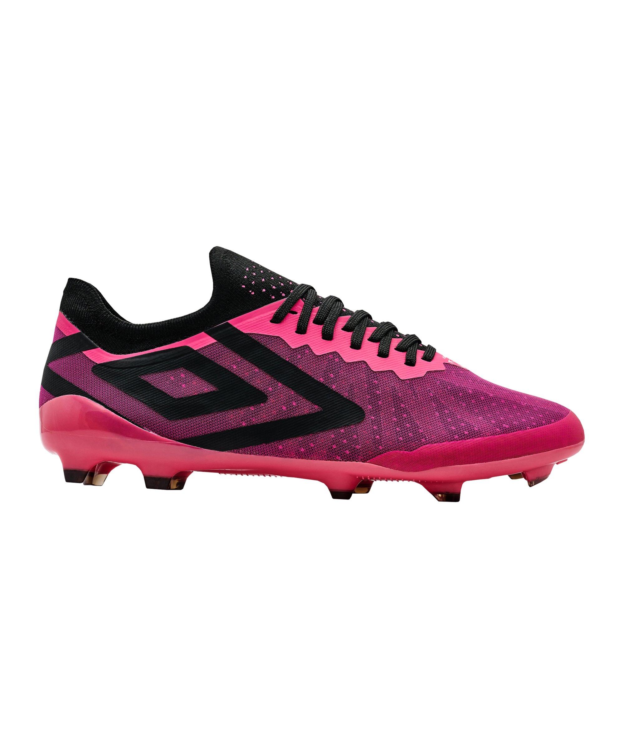 Umbro Velocita VI Pro FG Pink Schwarz FKDR - pink
