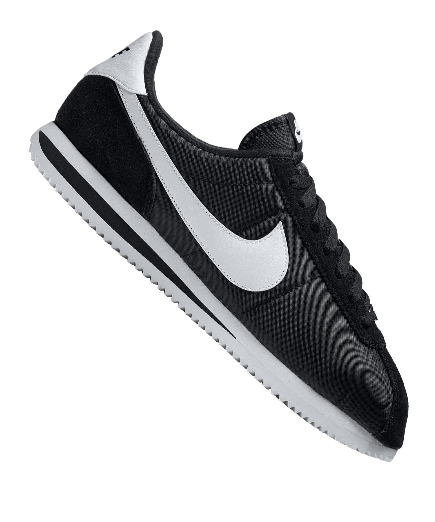 Nike Cortez Basic Nylon Sneaker Schwarz F011 - schwarz