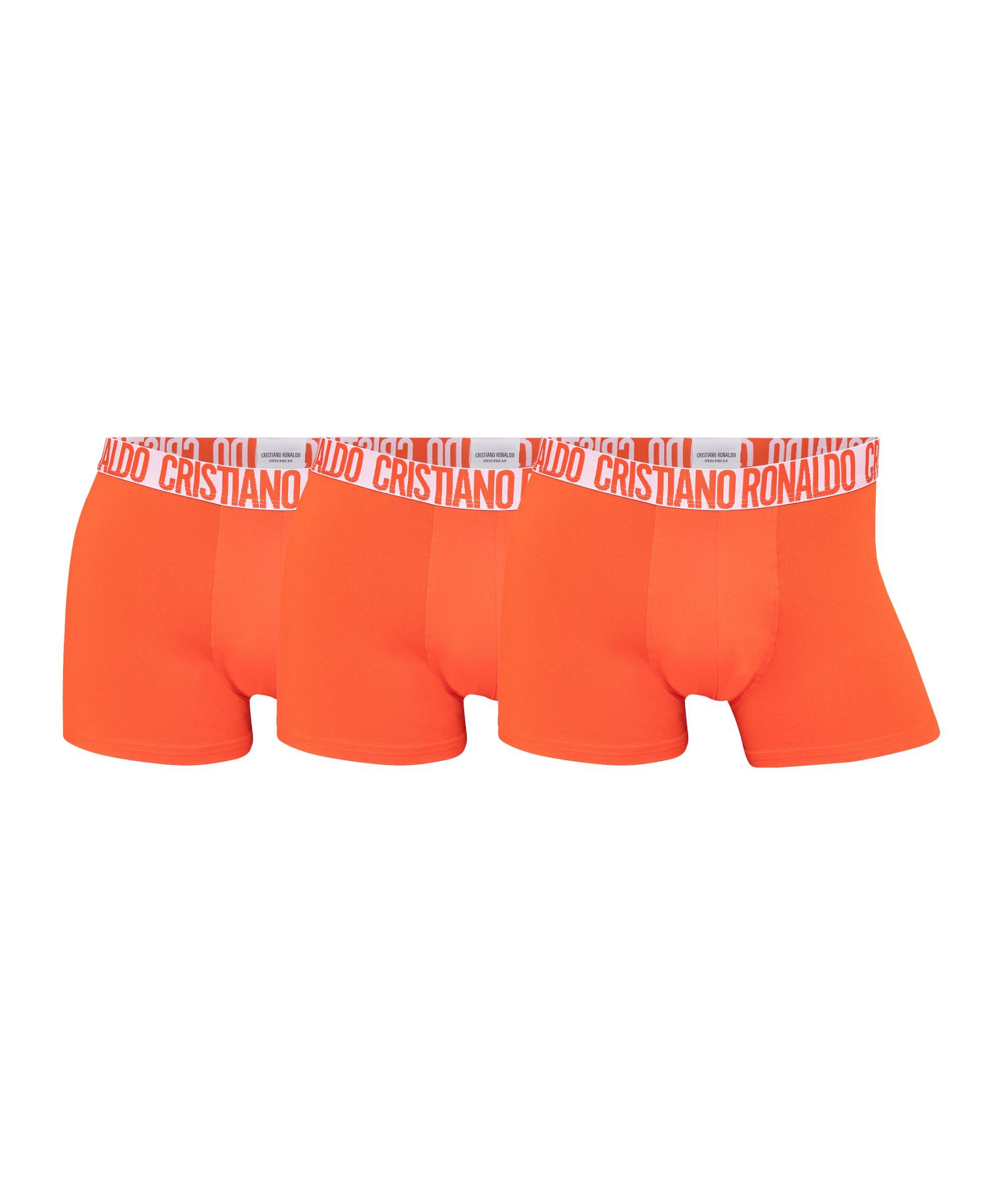 CR7 Basic Trunk Boxershort 3er Pack Orange - orange