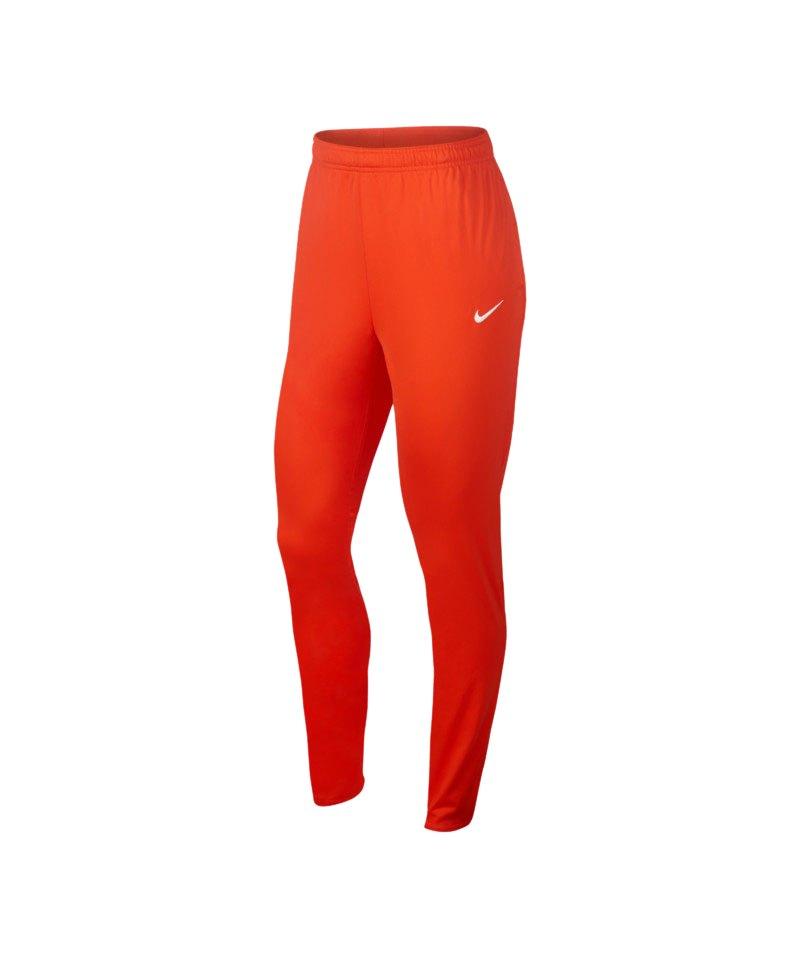 Nike Hose Football Pant lang Damen Orange F852 - orange