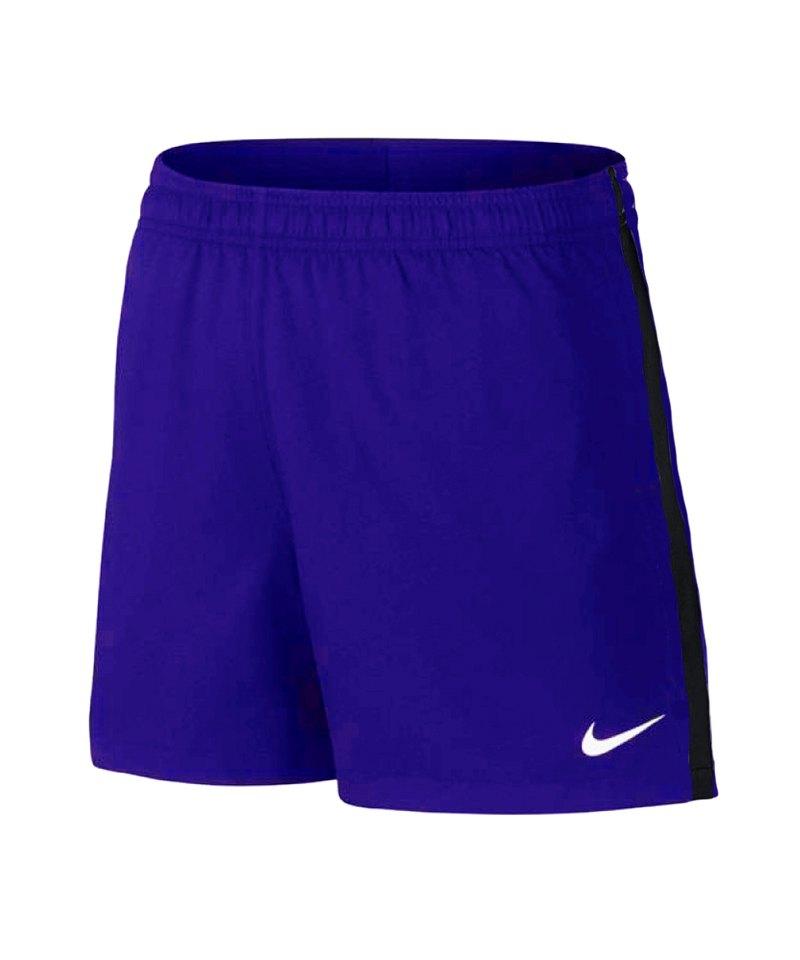 Nike Hose Dry Football Short kurz Damen Blau F453 - blau