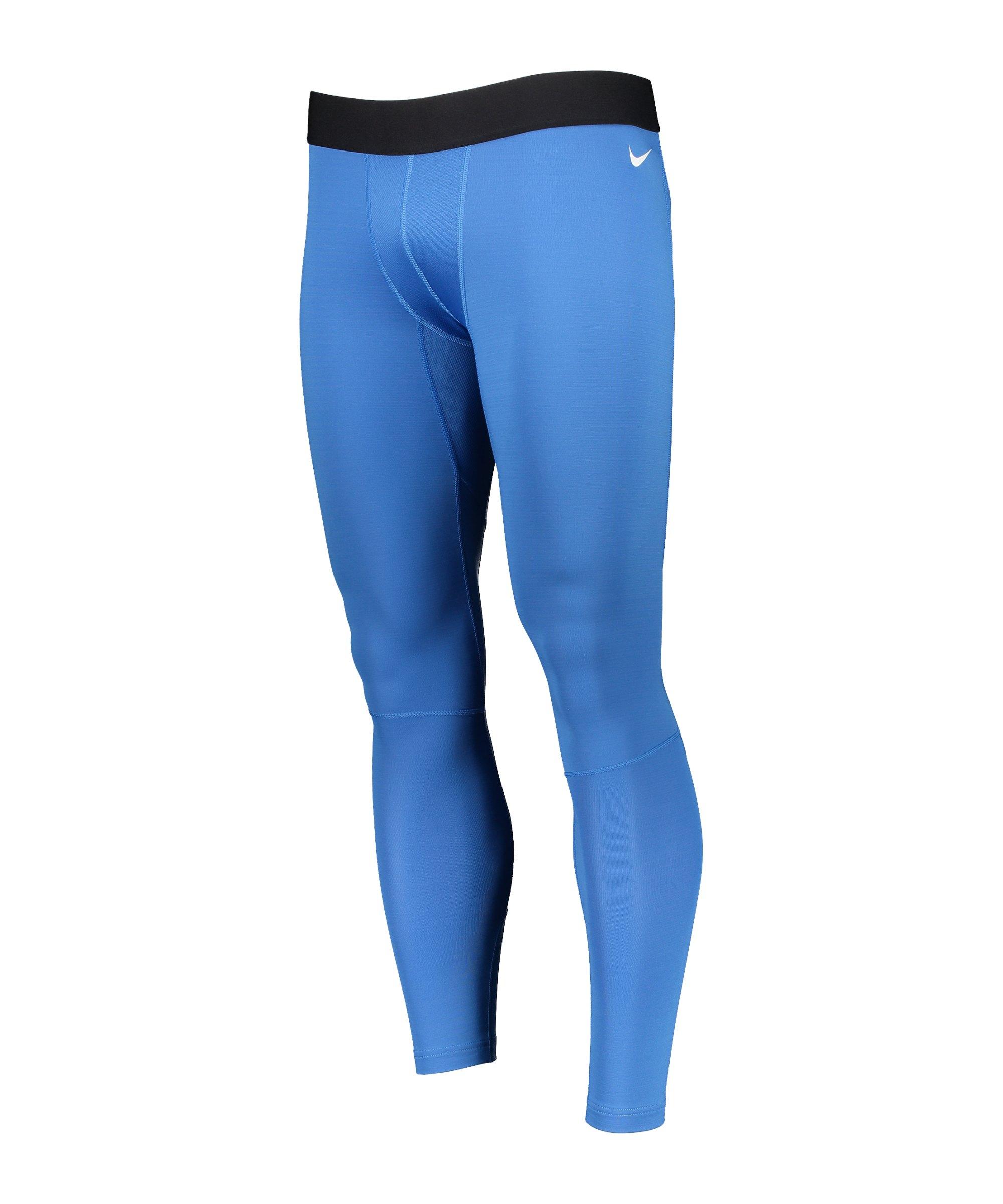 Nike NP Hyperwarm Max Tight Blau F465 - blau