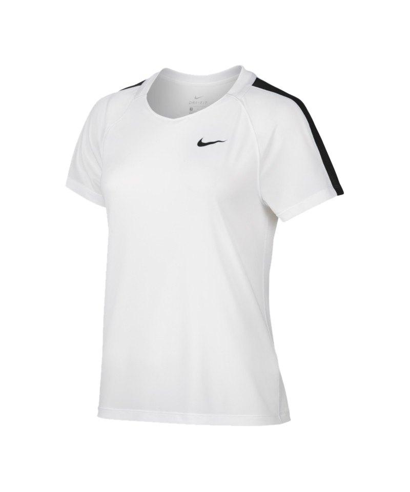 Nike Football Top Dry Damen Weiss F101 - weiss