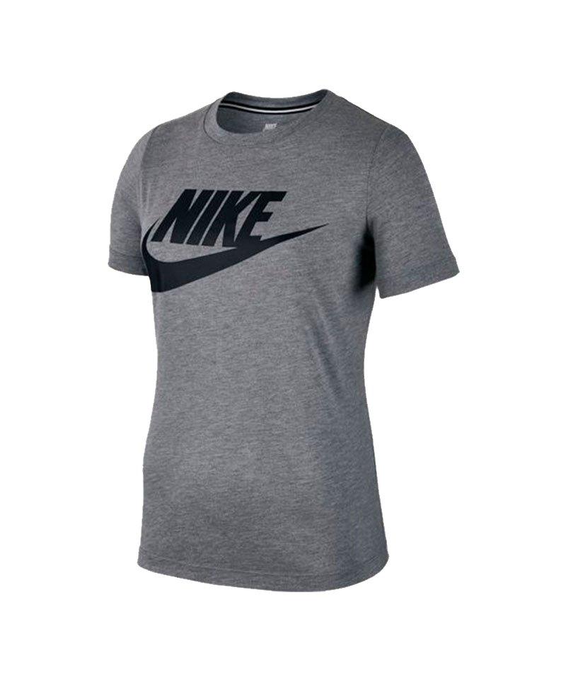 Nike T-Shirt Essential Tee Damen Grau F091 - grau