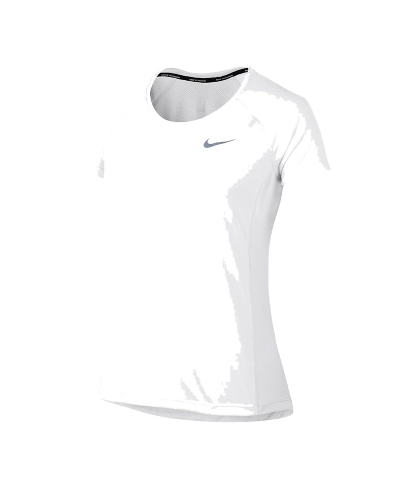 Nike Dry Miler Tee T-Shirt Running Damen F100 - weiss