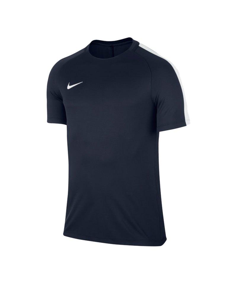 Nike Trainingstop Squad 17 Dry Blau Weiss F452 - blau