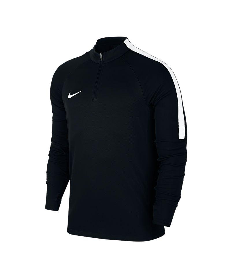 Nike Dry Drill Top 1/4 Zip LS Squad 17 F010 - schwarz