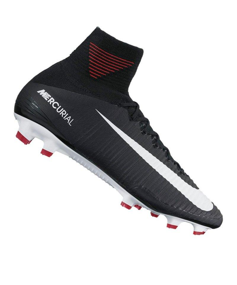 Nike FG Mercurial Superfly V Schwarz F002 - schwarz