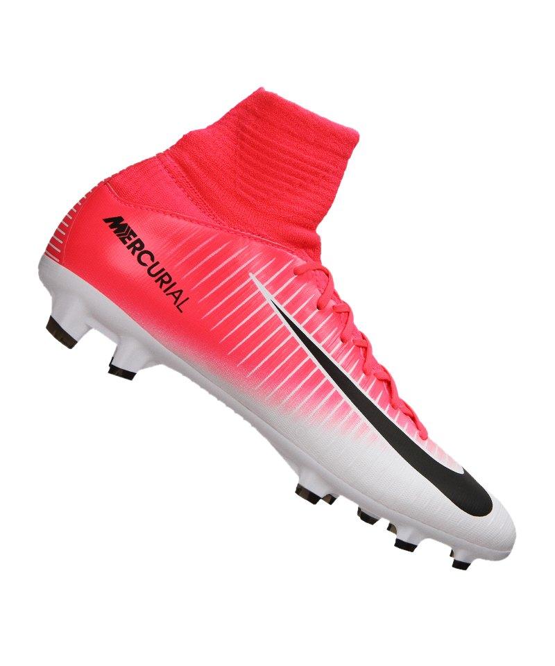 Nike FG Jr Mercurial Superfly V Kinder Pink F601 - pink