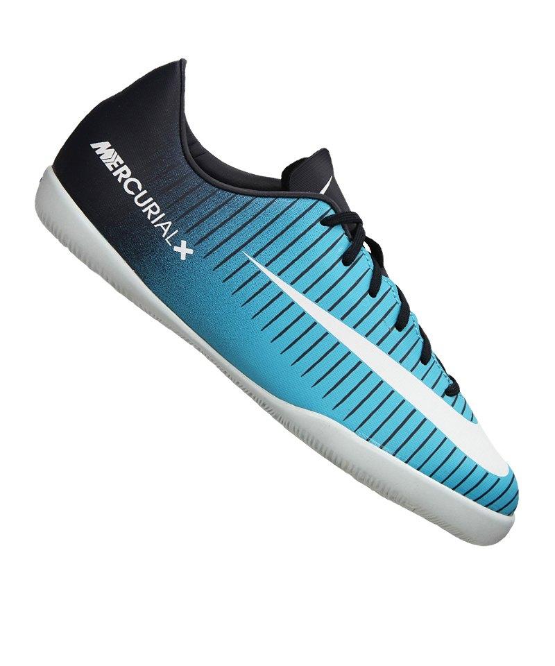 Nike Jr Mercurial Victory VI IC Kids Blau F404 - blau