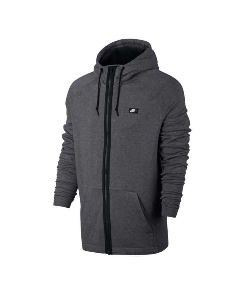 Nike Kapuzenjacke Modern Fullzip Grau F091 - grau