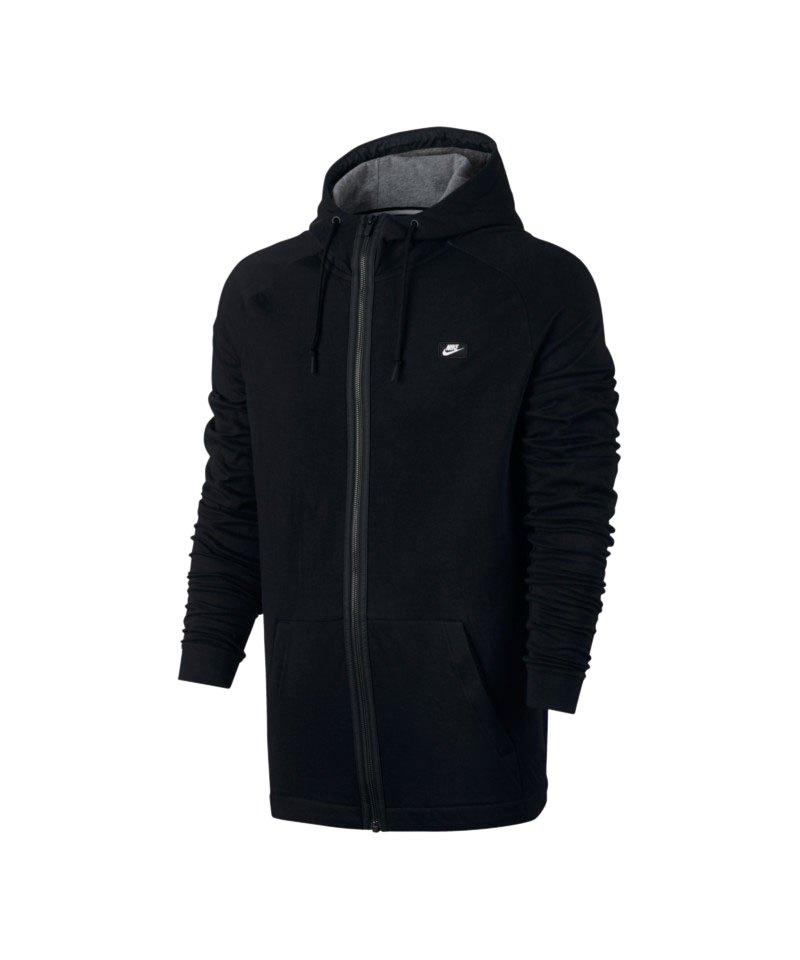 Nike Kapuzenjacke Modern Fullzip Schwarz F010 - schwarz