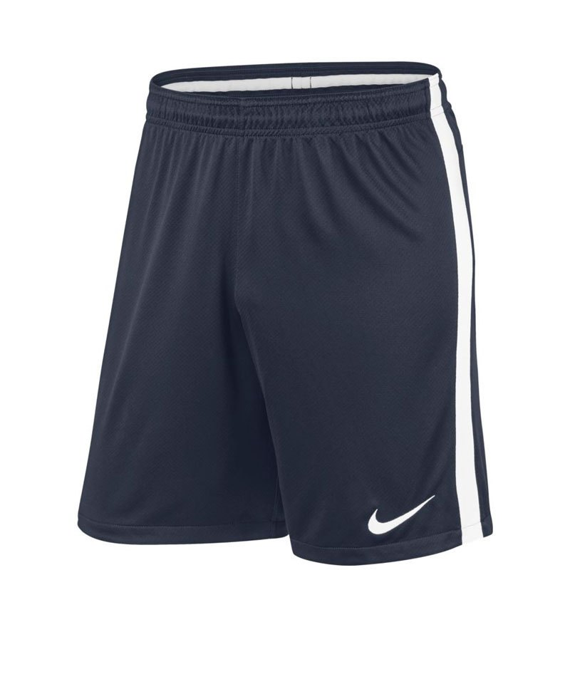 Nike Short Squad 17 Dry Knit Kinder Blau Weiss F452 - blau
