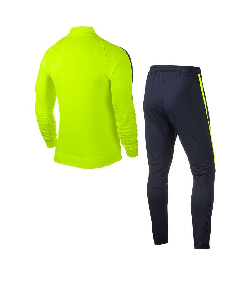 Nike Trainingsanzug Squad 17 Dry Gelb Blau F702