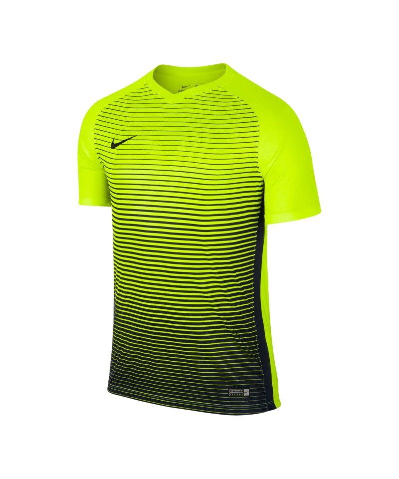 Nike kurzarm Trikot Precision IV Gelb F702 - gelb