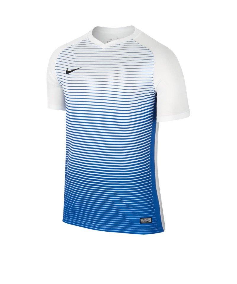 Nike kurzarm Trikot Precision IV Weiss F101 - weiss